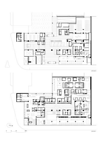 plantas pisos 0 & 1