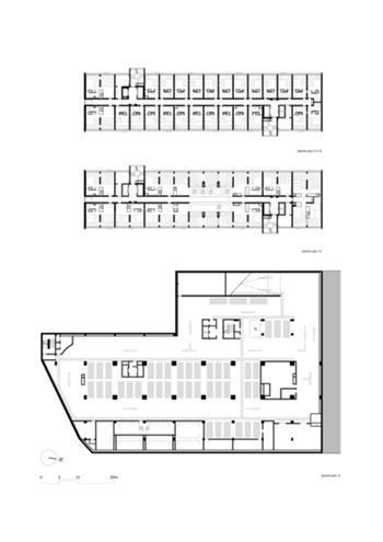 plantas pisos cave, pisos 2 a 12 & piso 14