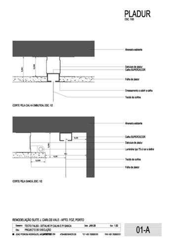 Detalhes de tecto