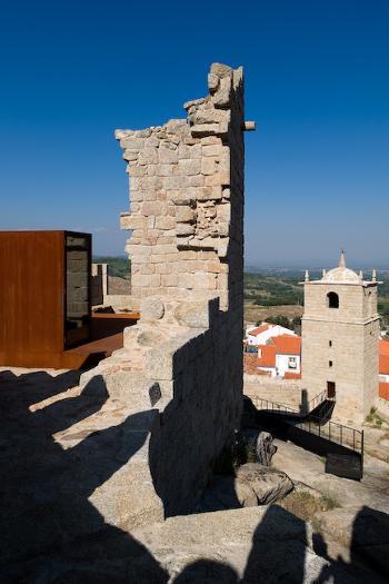 Vista da Torre de Menagem