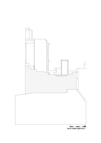 Alçado Norte da Torre de Menagem