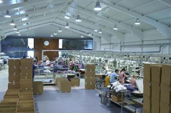 Interior do sector de produção