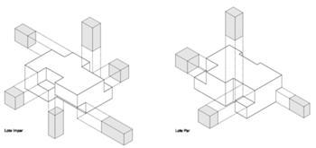 Axonometria Habitações