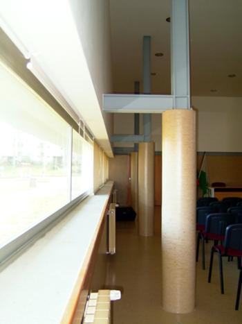 Salão Polivalente - Pormenor