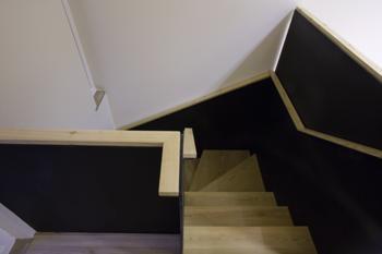 Escada da loja (parte superior)