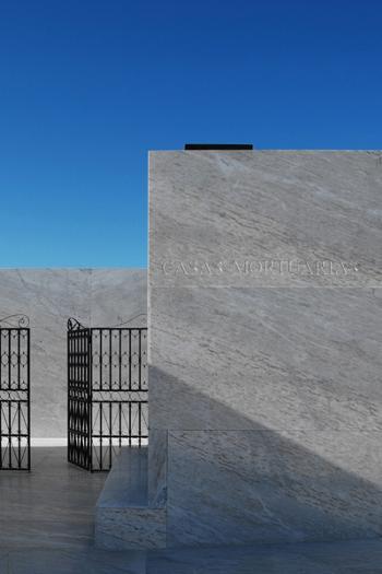 entrada Casas Mortuárias de Alhandra
