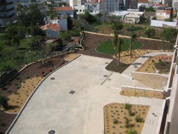 Vista Jardim frente alçado sul