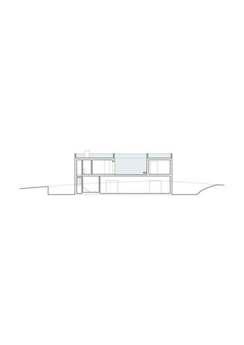 casa 02, corte longitudinal