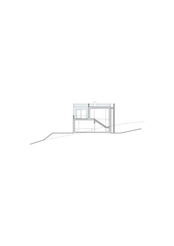 casa 02, corte transversal