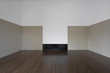 sala de estar - fogão de sala