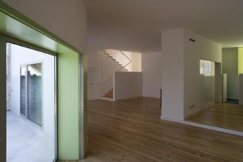 sala de estar, cozinha, entrada
