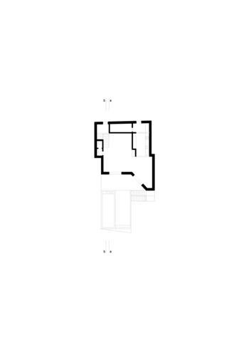 planta piso 1 - sala, cozinha, terraço e piscina