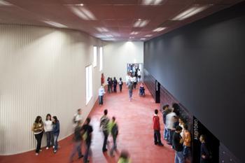 """learning street"" -  entrada auditório"