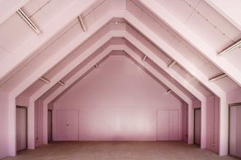 vista interior - pavilhão associação recreativa