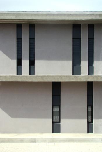 pormenor da fachada sul