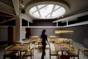 Sala de Jantar - Zona sob a Claraboia