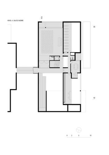 Planta Nivel 4 | Salão Nobre