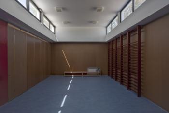 Vista da sala polivalente