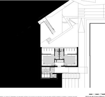 Edifício B [Planta à cota inferior]