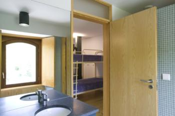 Instalação sanitária de camarata
