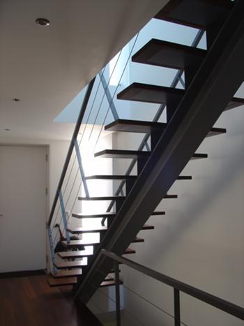 Interior - Entrada e Escada