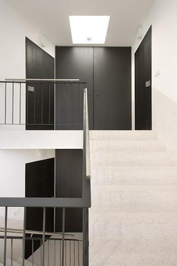 vista interior acesso vertical