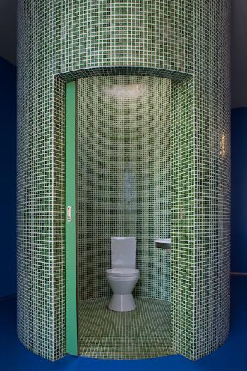 Perspectiva Interior Instalação Sanitária