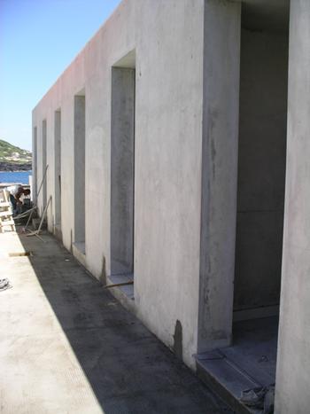 Alçado Norte - Em construção