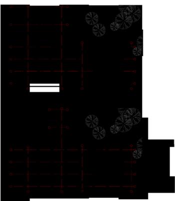 Plantas piso 0 e piso -1