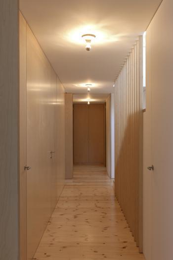 Interior - Corredor quartos Piso -2