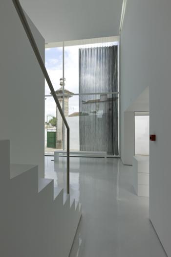 Vista para a entrada do Museu