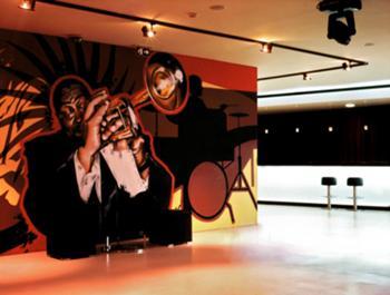 Graffiti, área de palco