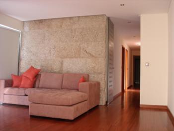 Vista, Sala de estar e corredor