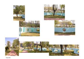 Parque Infantil, lampreia azul