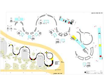 Parque Infantil, lampreiaa azul
