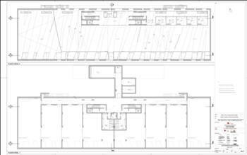 Plantas dos pisos -1 e 0