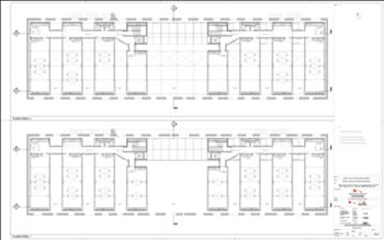 Plantas dos pisos 1 e 2