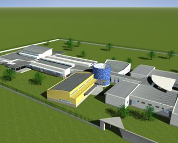 Imagem 3D da fase de projecto