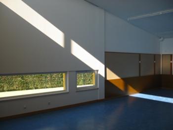 Vista interior de uma sala do jardim de infância