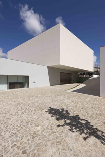 Perspectiva exterior - edifício novo