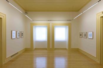 Edifício antigo - sala de exposições