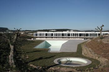 Vista piscina comum
