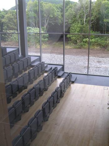 Vista do auditório a partir da galeria