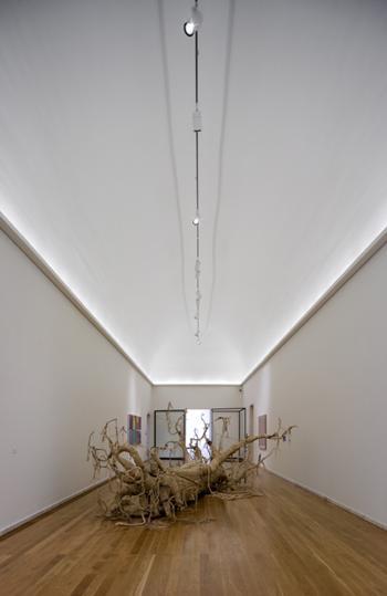 sala de exposição