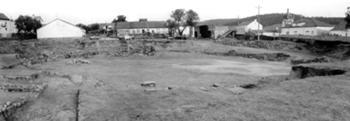 Vista do Anfiteatro após as sondagens arqueológicas