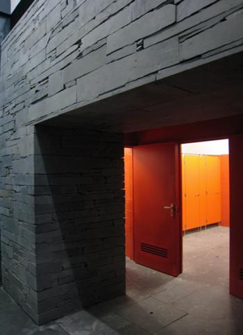 Zona de Acesso às Instalações Sanitárias