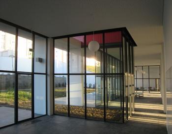 Sala de Convívio - Relação com o Jardim