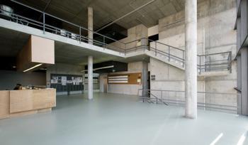 interior átrio entrada
