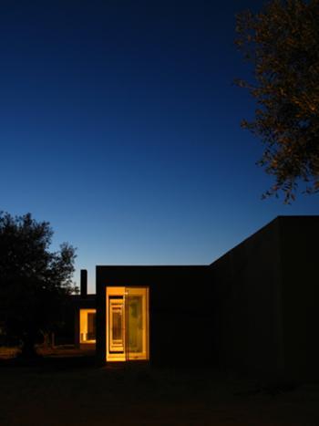 vista nocturna espaços de dormir