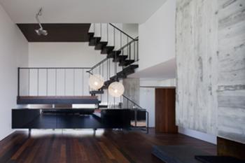 Habitação Unifamiliar, Leiria > Interior, Sala e Circulação vertical